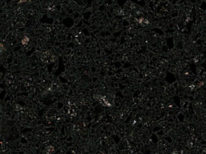 Licorice granite countertops
